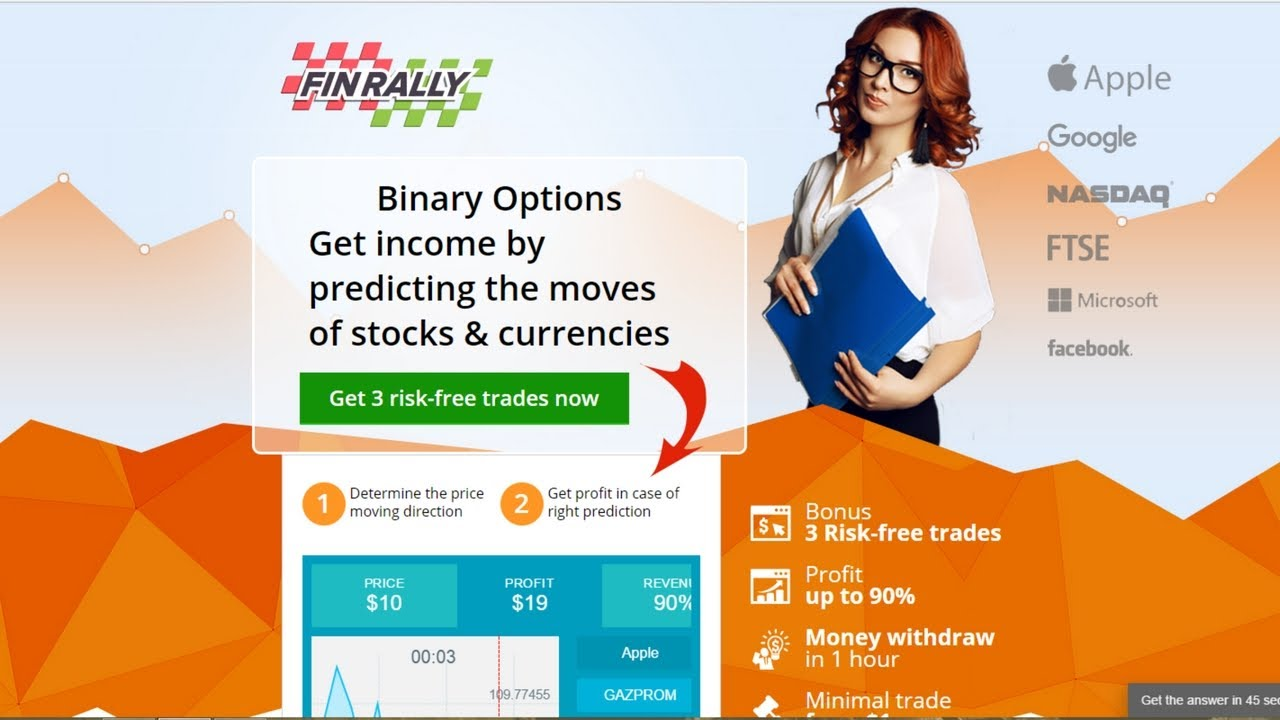 recommended binary options brokers