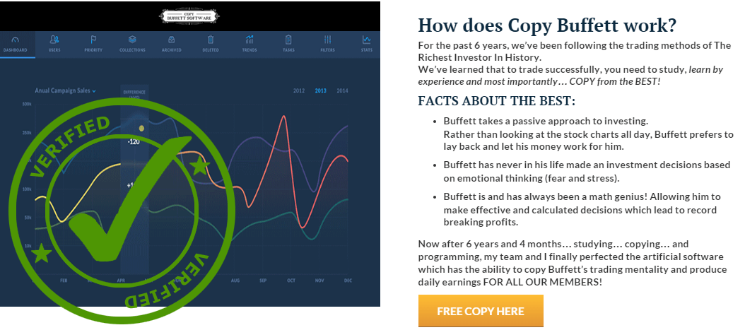 Copy Buffett Software Scam