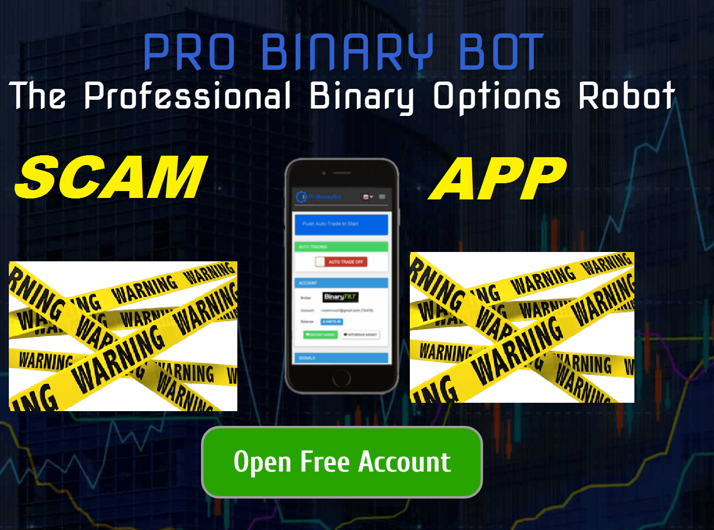 Binary Options Fake