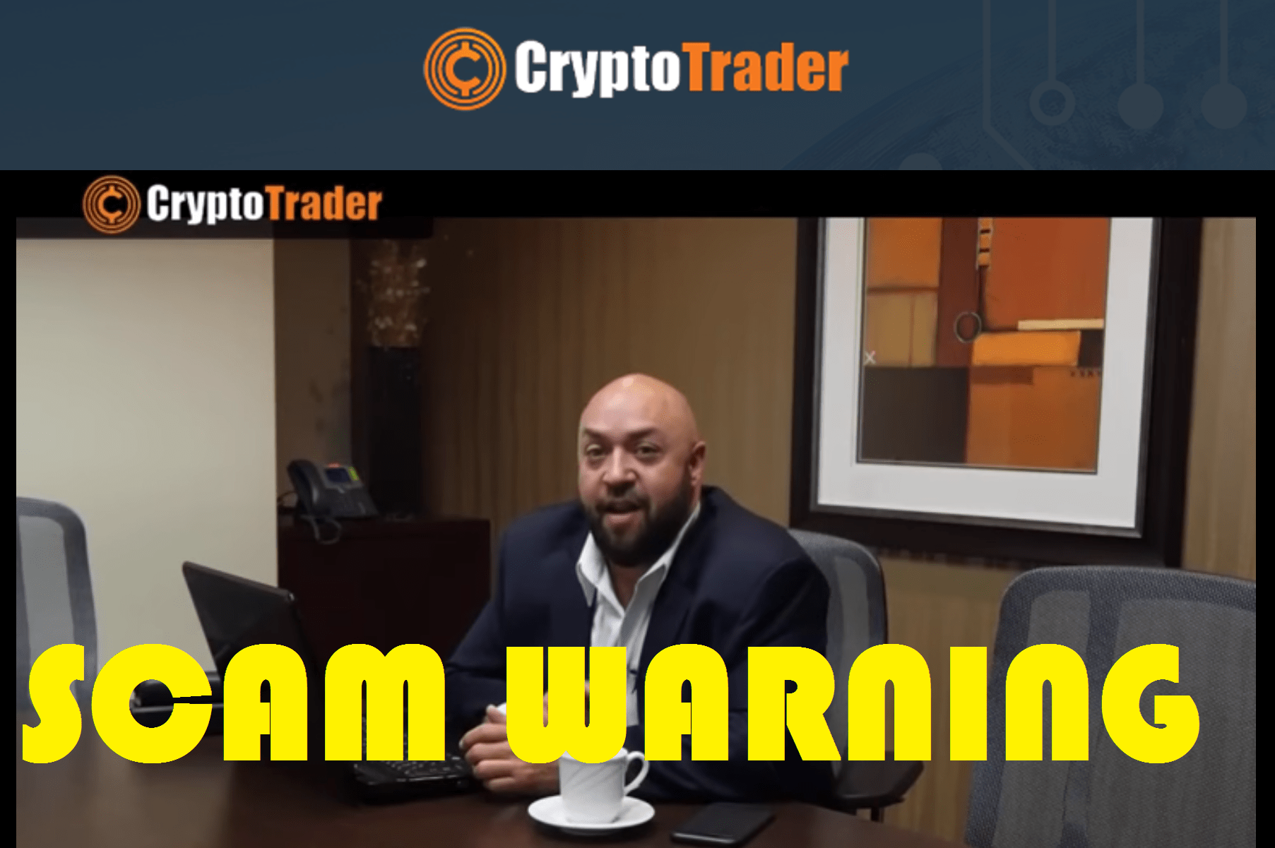 Crypto Trader Beoordeling SCAM! – David Richmond Fraude Production!!